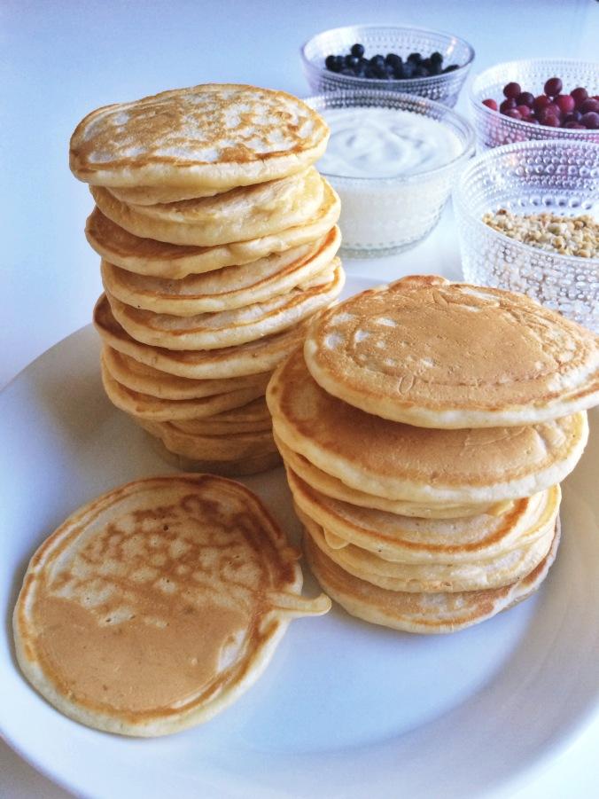 Pancakes pinot